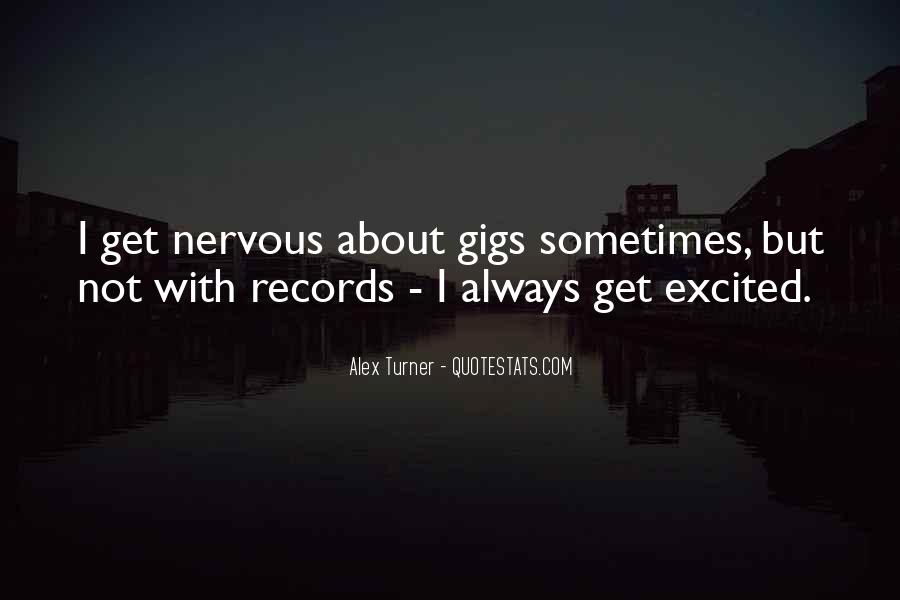 Quotes About Gigs #170149