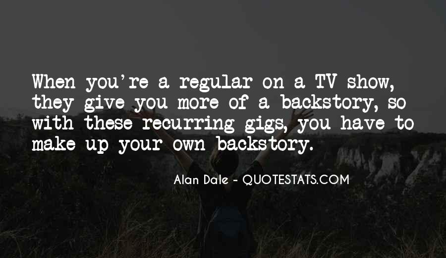 Quotes About Gigs #278185