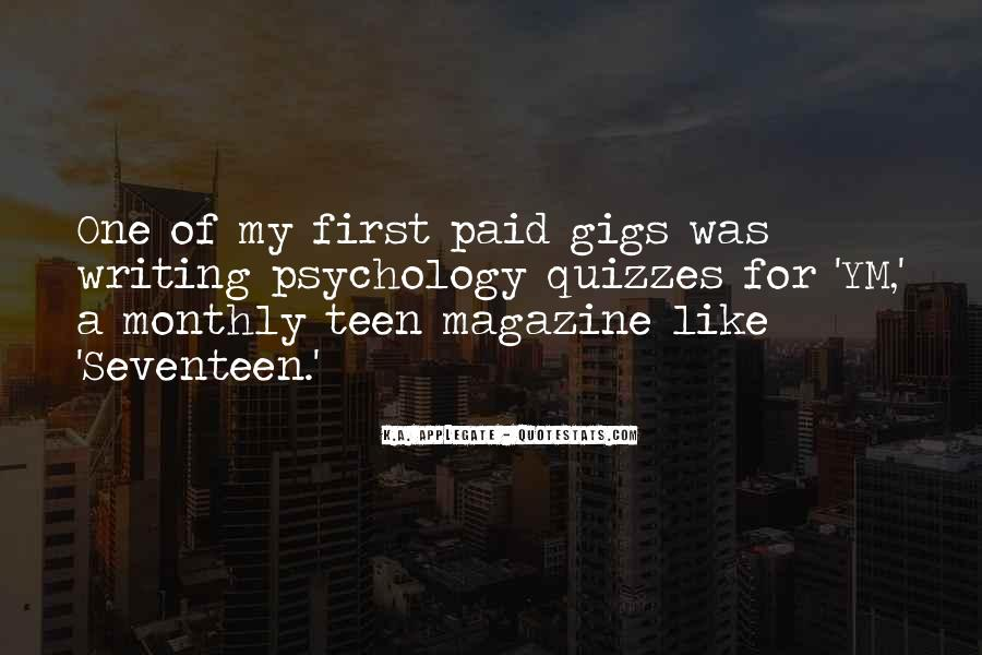 Quotes About Gigs #312191