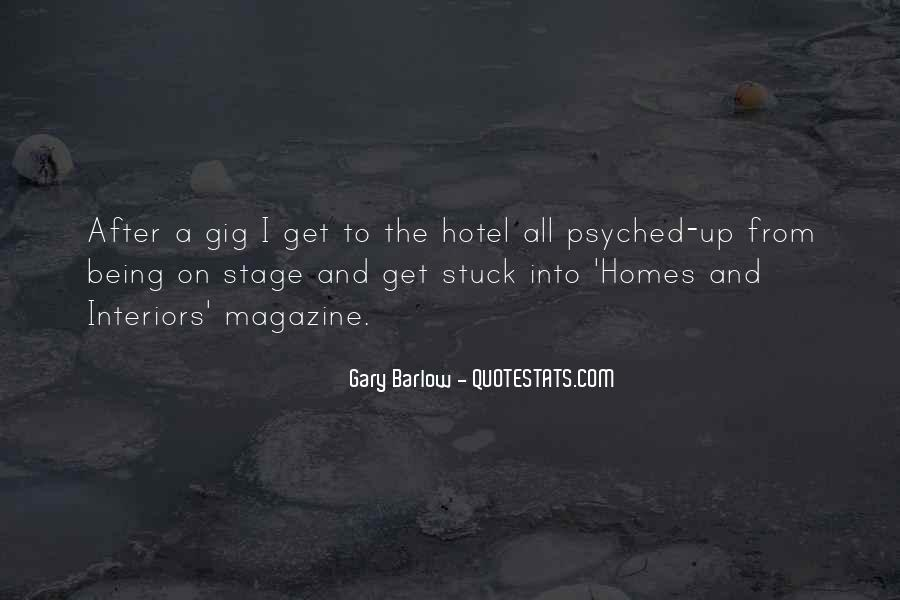 Quotes About Gigs #336767