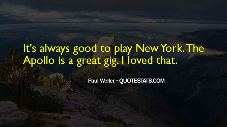 Quotes About Gigs #454044
