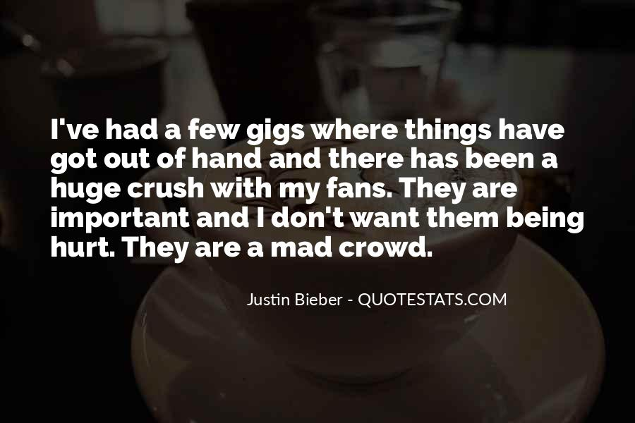 Quotes About Gigs #518955