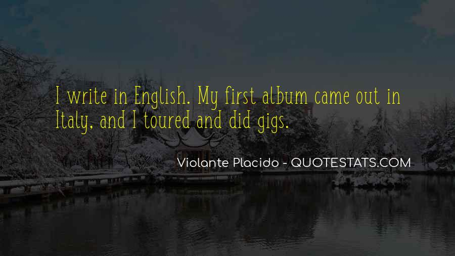 Quotes About Gigs #609090