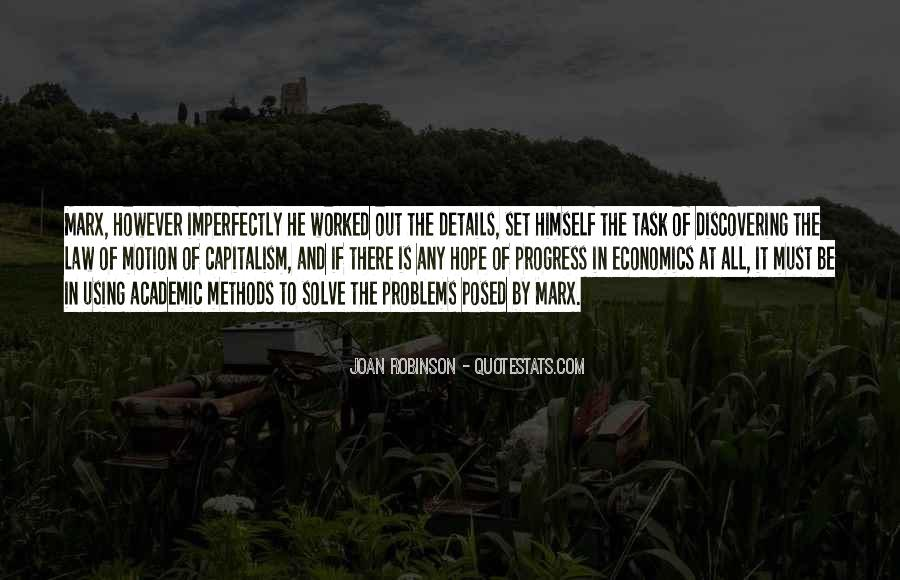 Quotes About Economics And Capitalism #1021696