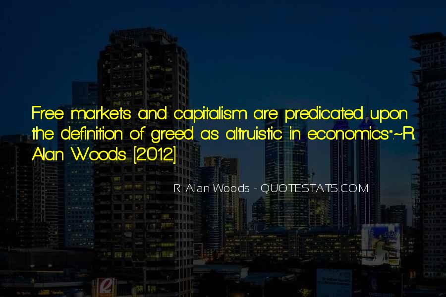 Quotes About Economics And Capitalism #1798221