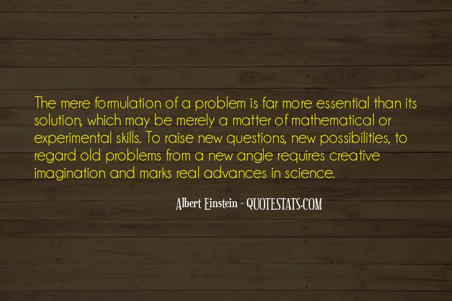Quotes About Questions Einstein #1035819