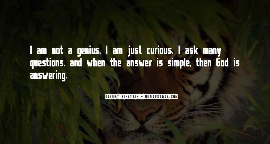 Quotes About Questions Einstein #1087664