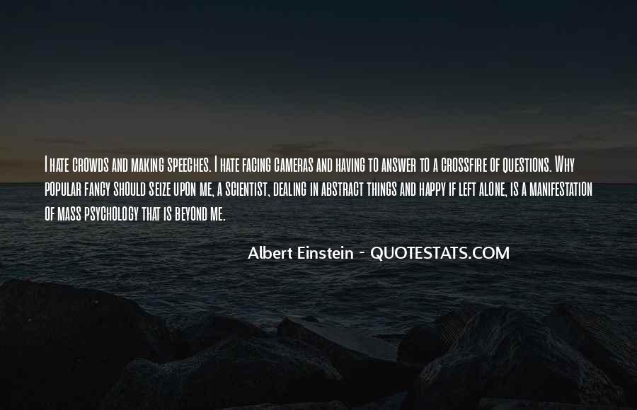 Quotes About Questions Einstein #1258024