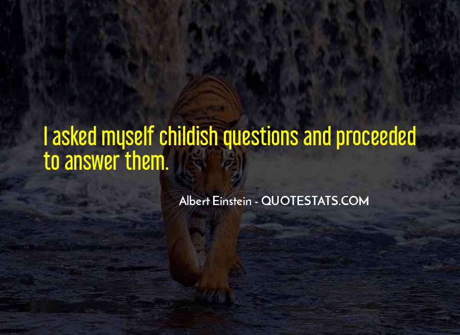 Quotes About Questions Einstein #1592285