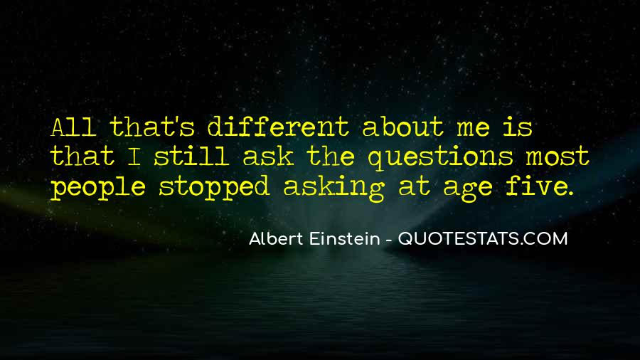 Quotes About Questions Einstein #1668473