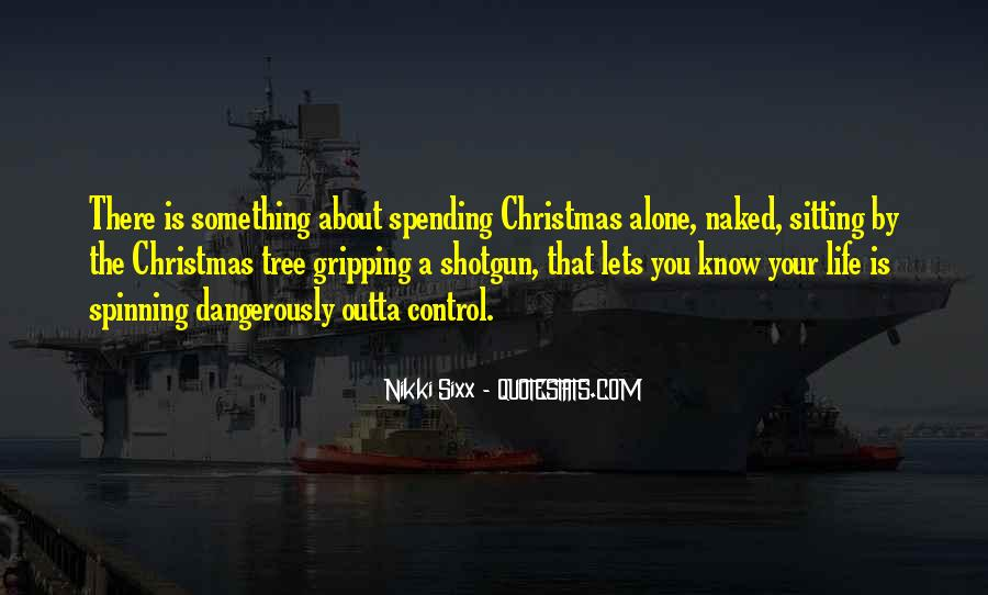 Quotes About Alone In Christmas #1392674