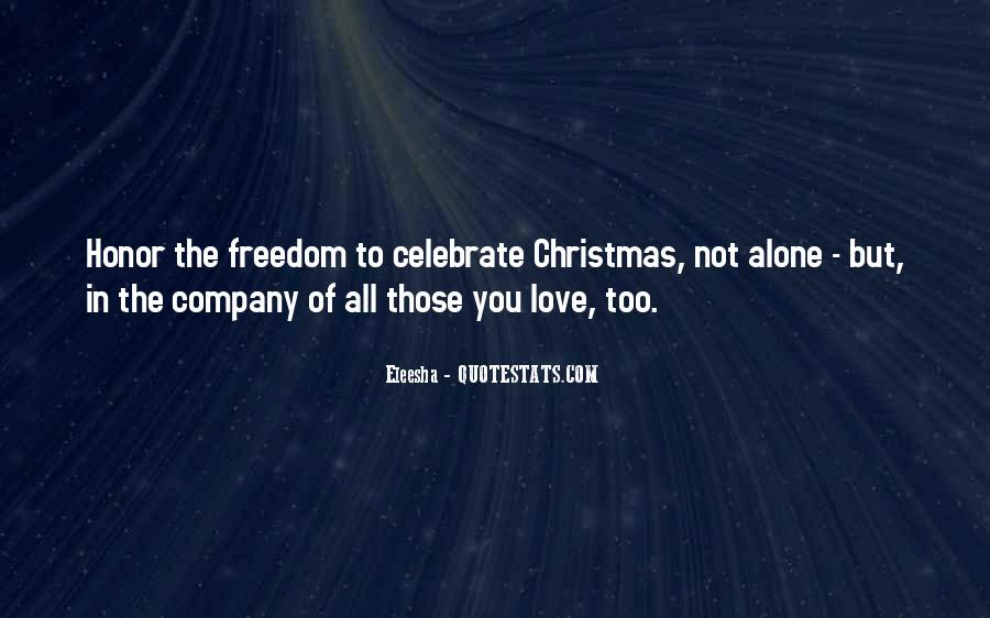 Quotes About Alone In Christmas #1588243