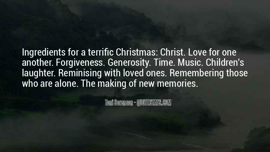 Quotes About Alone In Christmas #537127