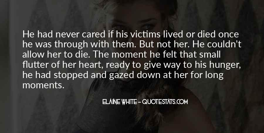 Quotes About He Never Cared #1657518