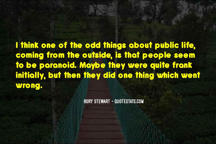 Quotes About Things That Went Wrong #104954