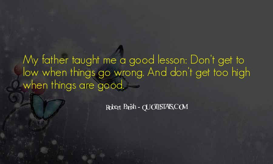 Quotes About Things That Went Wrong #143192