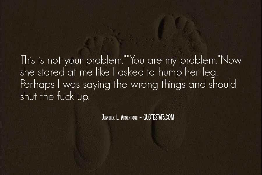 Quotes About Things That Went Wrong #15089