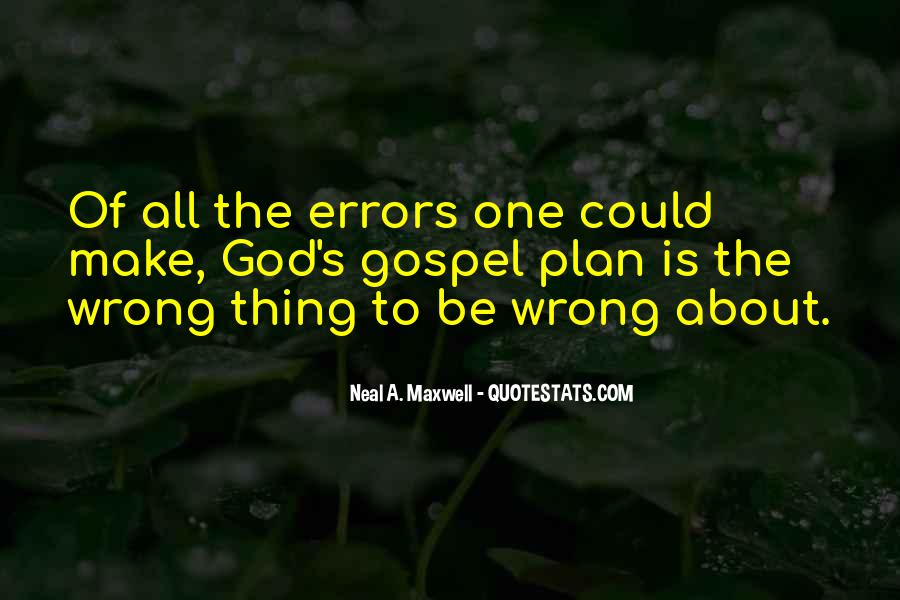 Quotes About Things That Went Wrong #152992