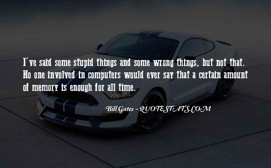 Quotes About Things That Went Wrong #23899