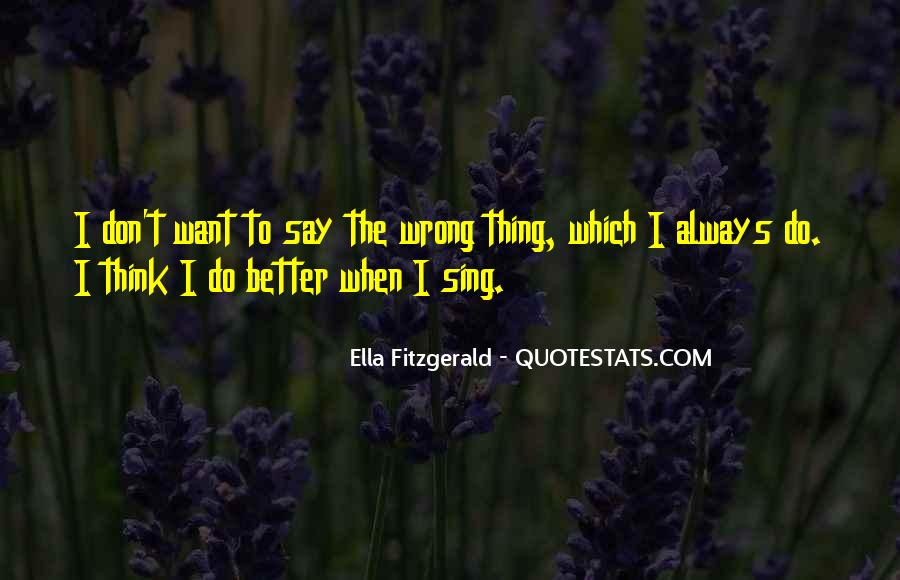 Quotes About Things That Went Wrong #44380