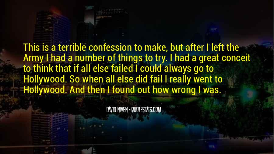 Quotes About Things That Went Wrong #47070