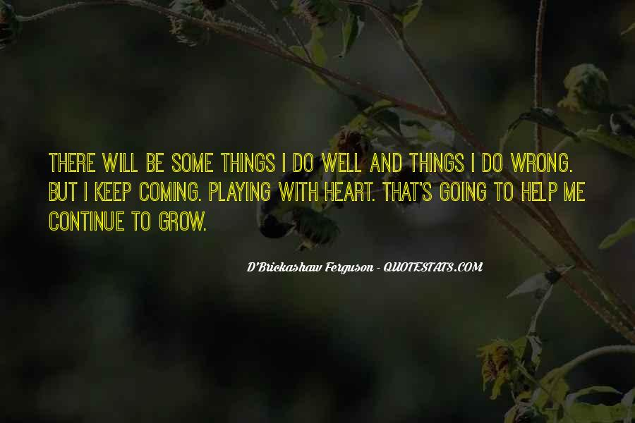 Quotes About Things That Went Wrong #57012