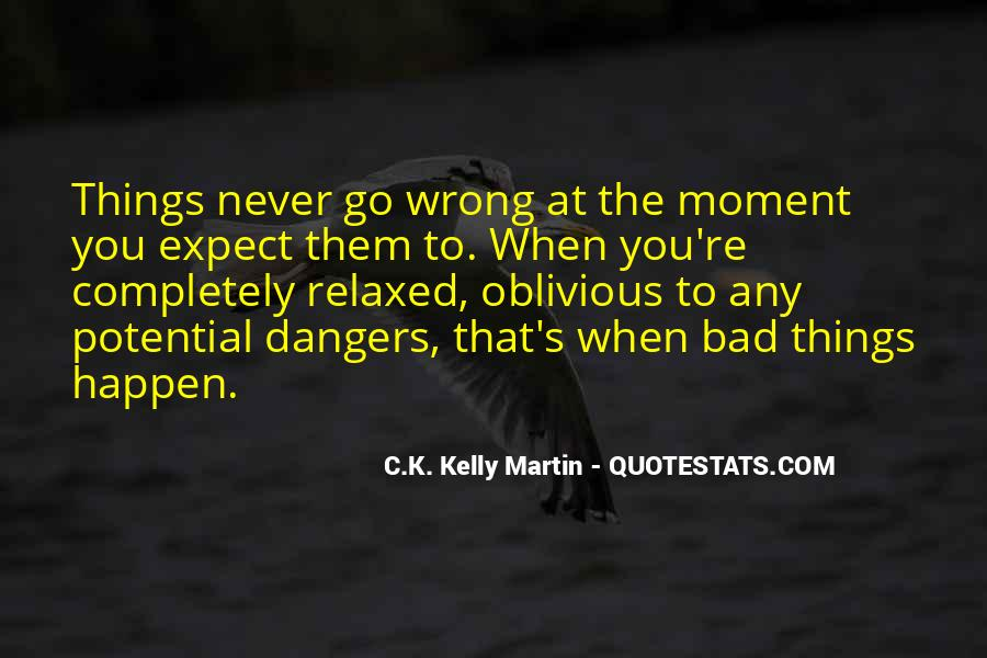 Quotes About Things That Went Wrong #60164