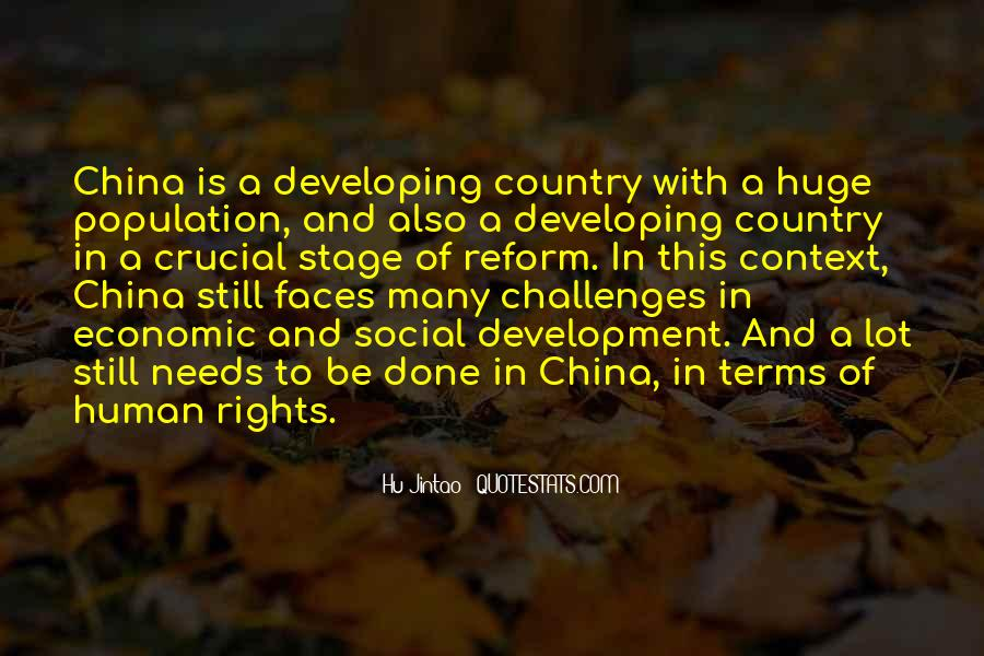 Quotes About Development Of A Country #101110