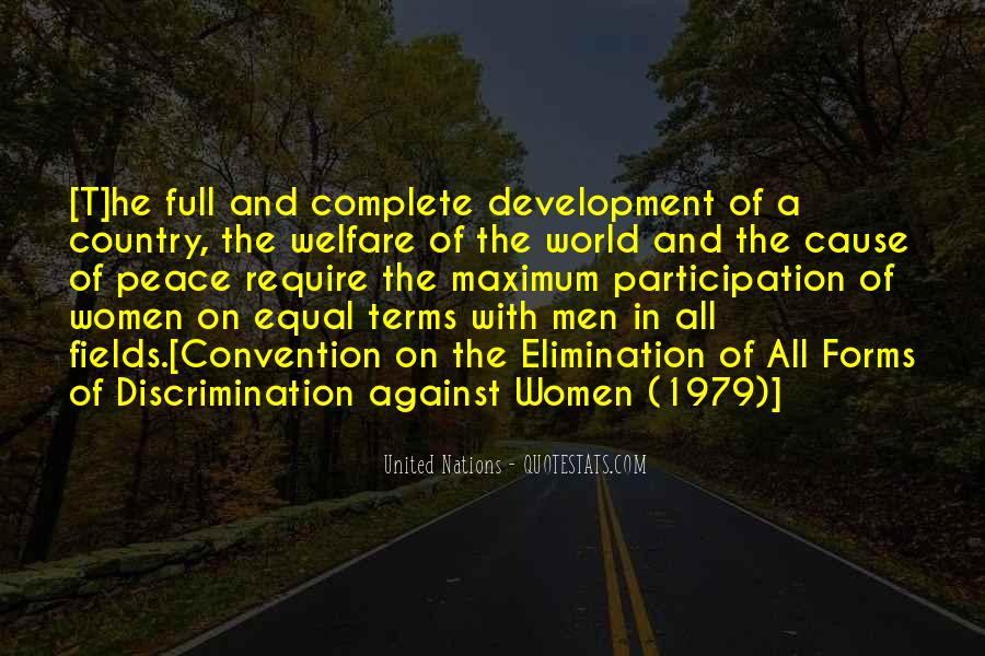 Quotes About Development Of A Country #1369642
