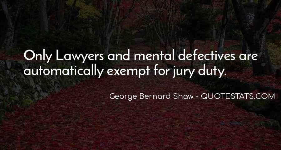 Quotes About Jury Duty #10122