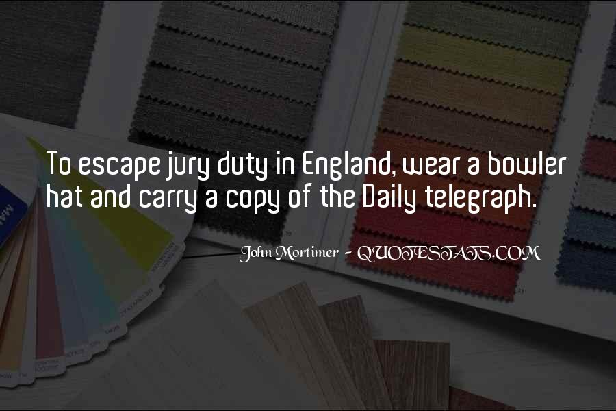 Quotes About Jury Duty #171510