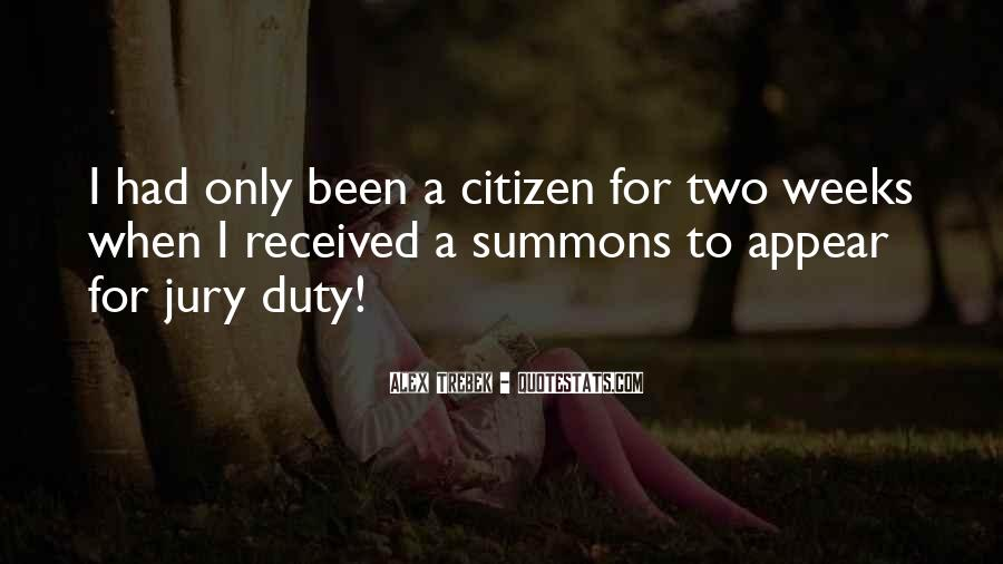 Quotes About Jury Duty #412994