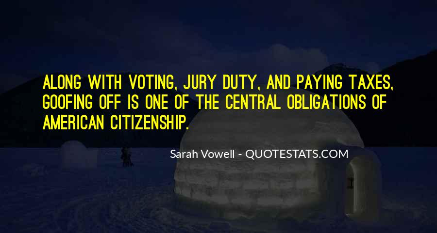Quotes About Jury Duty #416789