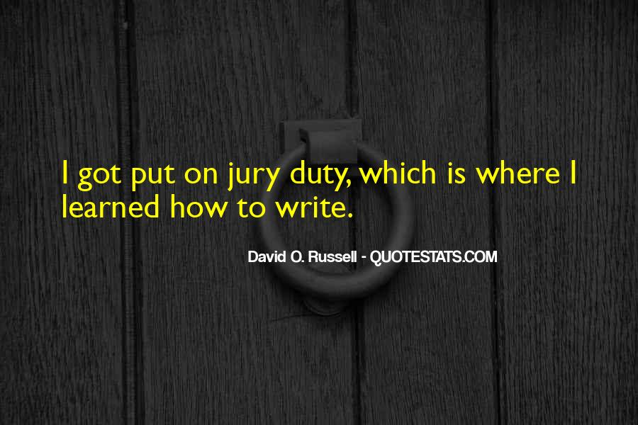 Quotes About Jury Duty #718031