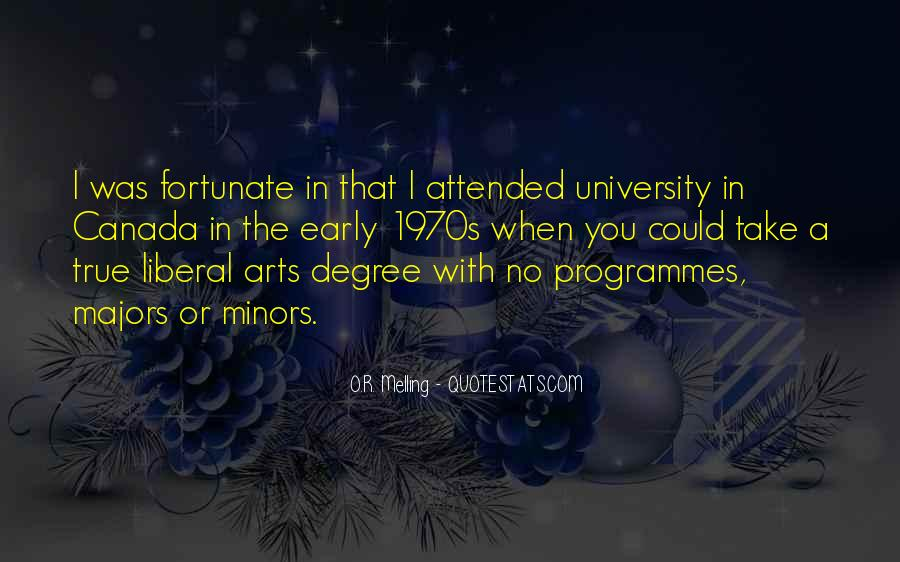Quotes About Liberal Arts #1343970