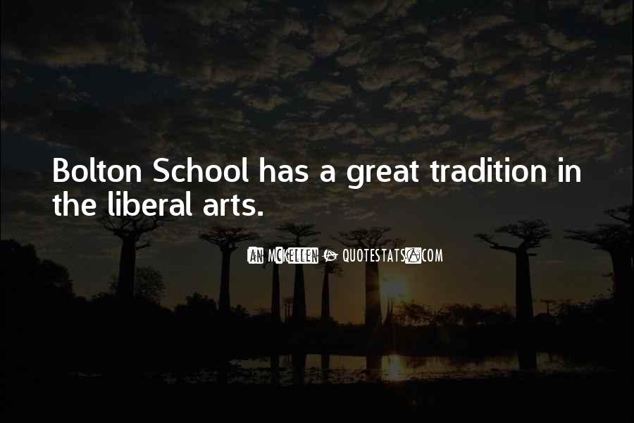Quotes About Liberal Arts #177213