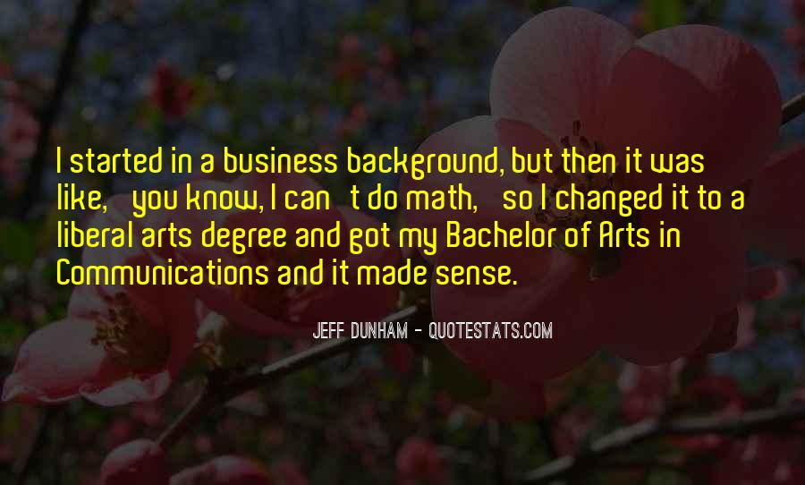 Quotes About Liberal Arts #1829236