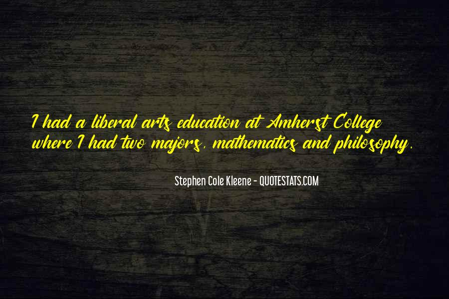 Quotes About Liberal Arts #253344