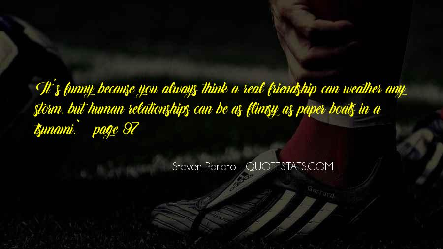 Quotes About Real Relationships #252316
