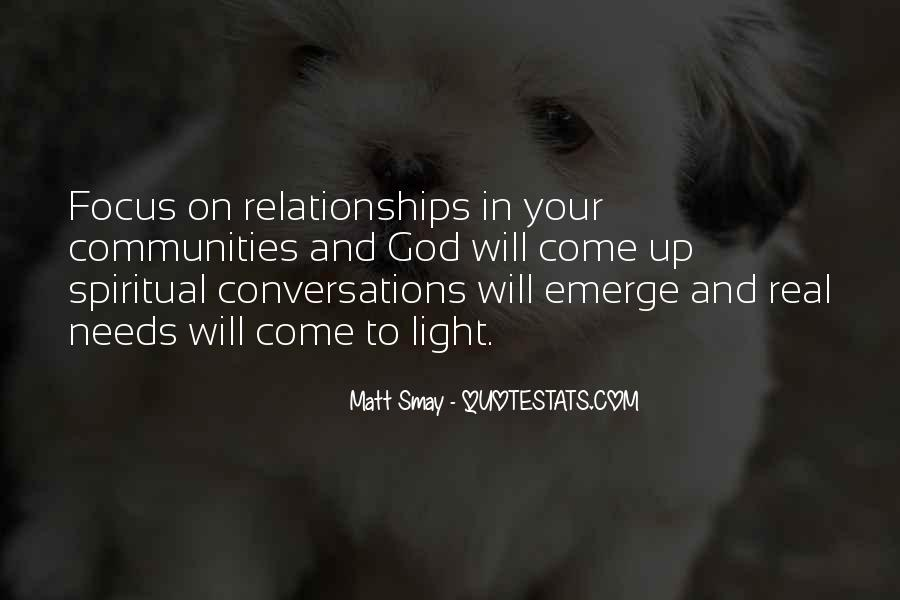 Quotes About Real Relationships #286853