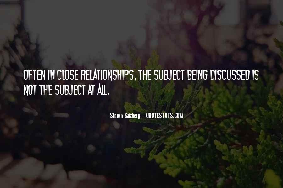 Quotes About Real Relationships #639719