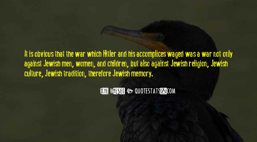 Quotes About The Holocaust Hitler #1823663