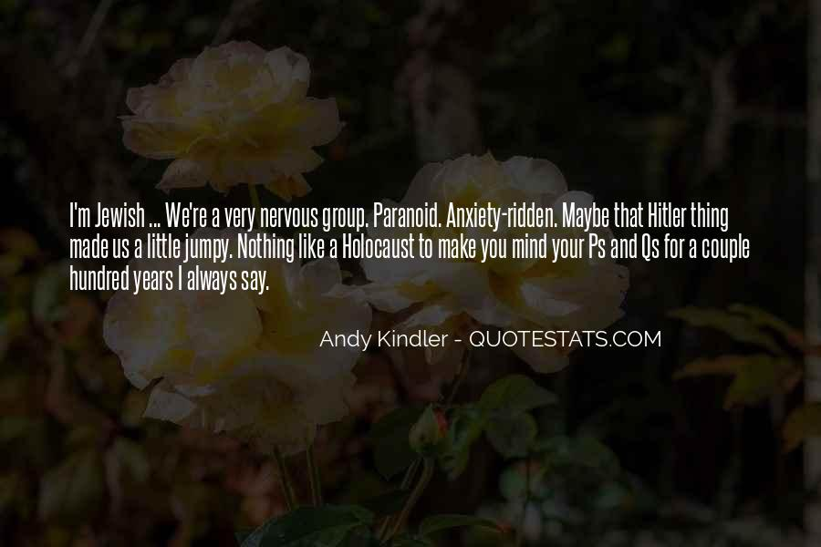 Quotes About The Holocaust Hitler #247890
