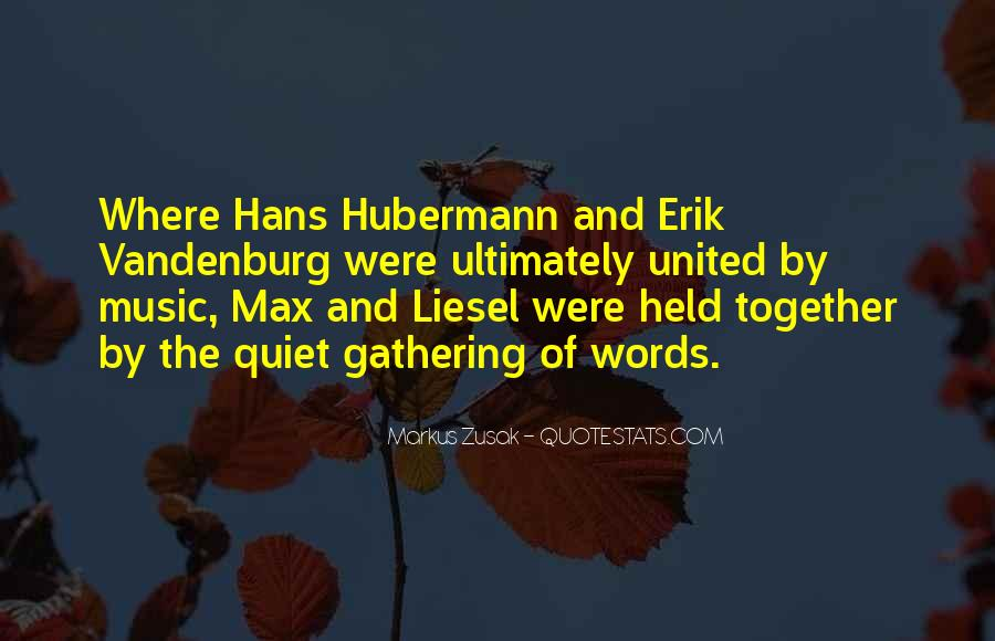 Quotes About Max Vandenburg In The Book Thief #1286299