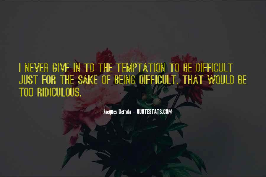 Quotes About Temptation And God #108422