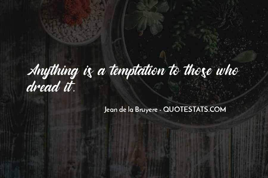 Quotes About Temptation And God #109031