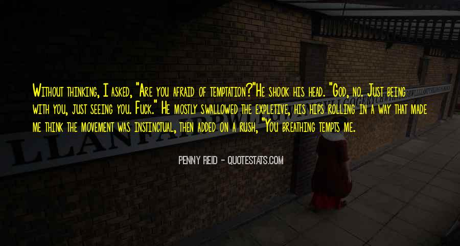 Quotes About Temptation And God #11924