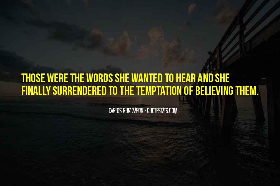 Quotes About Temptation And God #126622