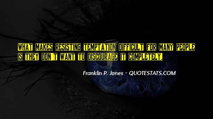 Quotes About Temptation And God #13088