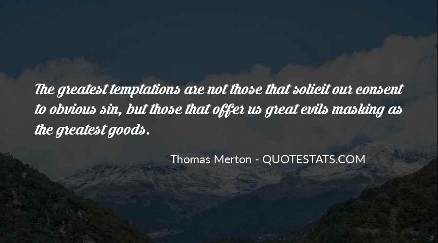 Quotes About Temptation And God #22753